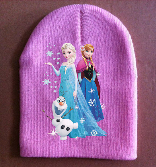 hat frozen hat girls hat knitted hat winter hat kids hats children hat