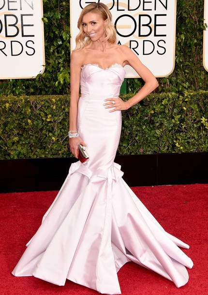 dress guliana rancic Golden Globes 2015