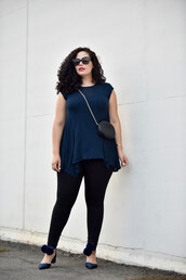 girl with curves,blogger,tank top,top,leggings,sunglasses,jewels,bag,shoes,make-up,plus size leggings,plus size top,curvy,plus size