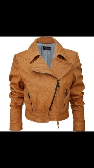 leather jacket caramel leather jacket brown