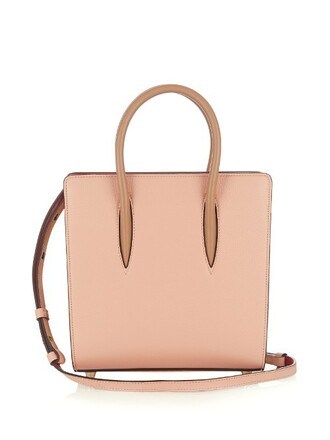 cross bag leather pink