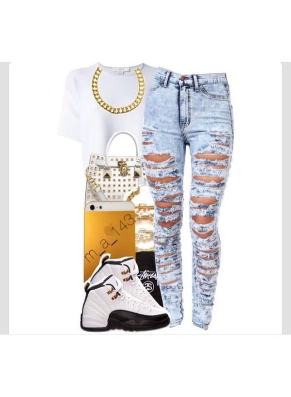 jeans jewels
