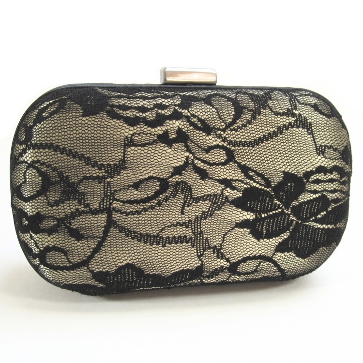 Scarlett Lace Clutch - Mimi Boutique