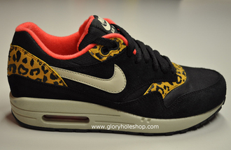 shoes air max leopard print beautiful nike sneakers