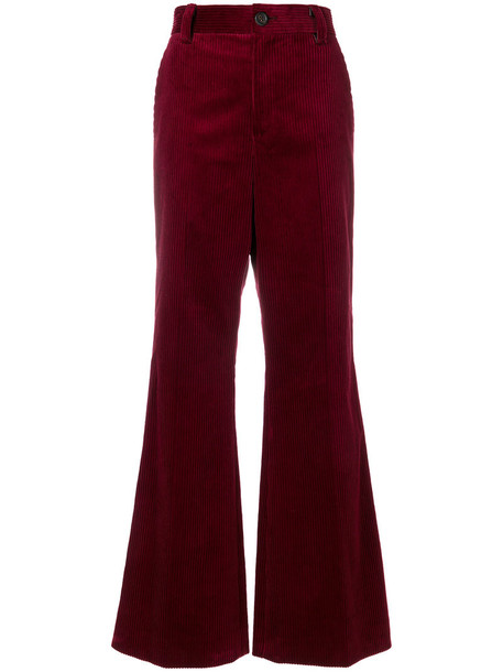 Marc Jacobs women cotton red pants