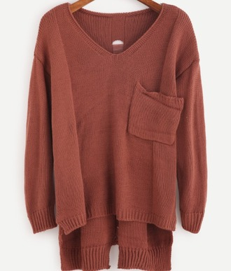 sweater girl girly girly wishlist knit knitwear knitted sweater comfy fall sweater pockets