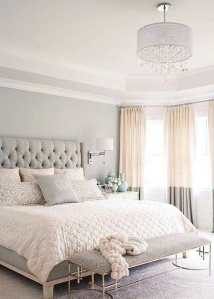 home accessory bedding bedroom classy grey