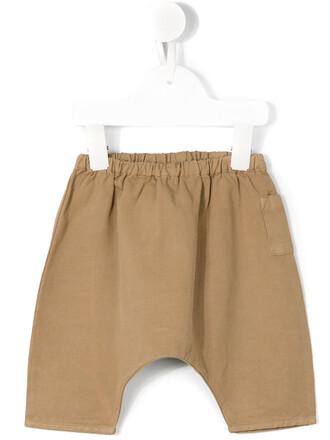 girl baby toddler brown pants