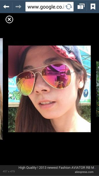 sunglasses colorful aviator sunglasses