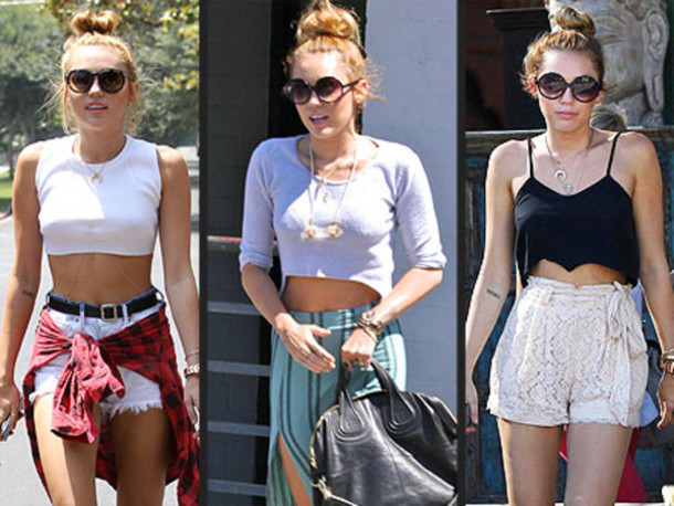 Miley Cyrus High Waisted Shorts - Shop for Miley Cyrus High ...