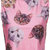 ROMWE | Cats' Heads Print Pink Vest, The Latest Street Fashion on Wanelo