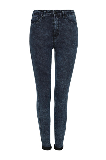blue acid wash high waist skinny jeans official. Black Bedroom Furniture Sets. Home Design Ideas