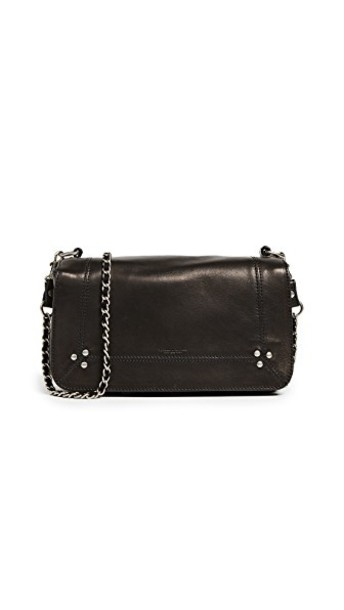 bag shoulder bag noir silver