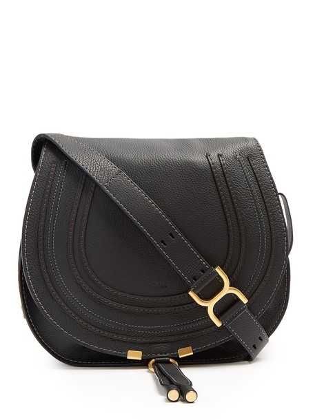 Chloe cross bag leather black