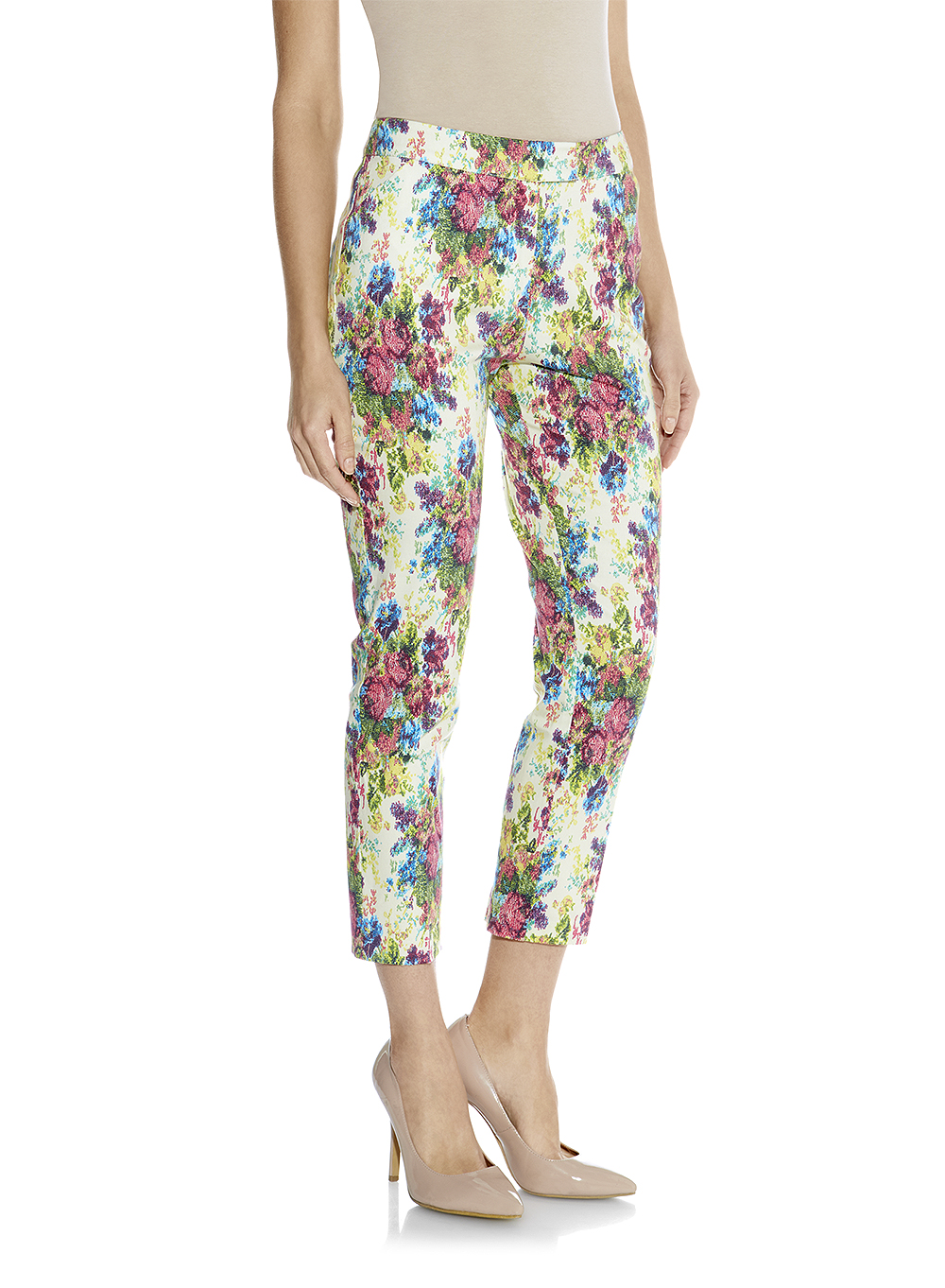 Darling Lilly Floral Trousers DS14W292A at darlingclothes.com