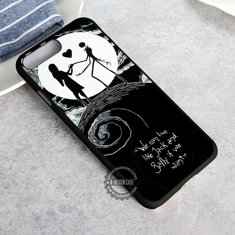 wholesale dealer e9485 1ba0f Eternal Couple Nightmare Before Christmas iPhone X 8 7 Plus 6s Cases  Samsung Galaxy S8 Plus S7 edge NOTE 8 Covers #iphoneX #SamsungS8