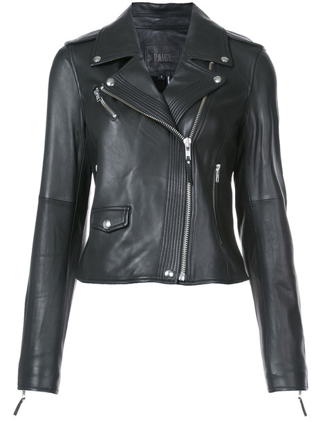 Paige jacket women leather black