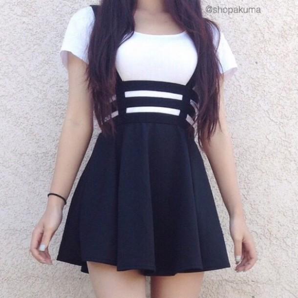 White Skirt Dress 111