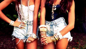 tank top,strapless,blue,white,shorts,girl,summer,High waisted shorts,ripped jeans,bleached,jewels,t-shirt,twin,denim,corset top,black,cute,shirt,hipster,high waisted denim shorts,bracelets,bustier,black and white tops,denim cutoffs,stacked bracelets,jeans,hot stuff,hot,style,corset,fashion,tumblr,tumblr outfit,tumblr girl,bff,outfit,cute outfits,clothes,high waisted,cute shirt,jewelry,blouse,wishies^^i luv this jeweld,crop tops,necklace,top