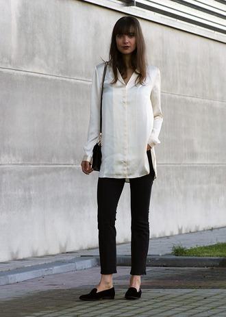 mode d'amour blogger top jeans bag