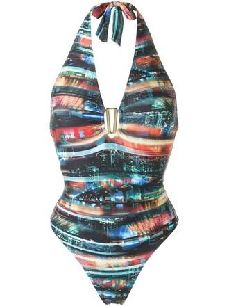 women spandex black swimwear