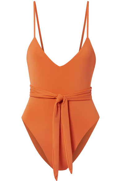 Mara Hoffman - Gamela belted swimsuit