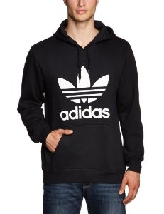adidas herren kapuzentop originals trefoil hoodie sport freizeit. Black Bedroom Furniture Sets. Home Design Ideas