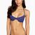 Frankies Bikinis Capri Bottom | Blue Bikini Bottom