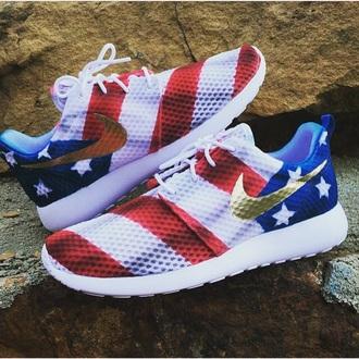 shoes nike american flag