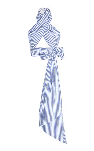 M'O Exclusive Everything Reversible Cotton Scarf | Moda Operandi