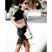 skirt,astars womens,astars,vegan leather,fashion blogger,fringes,fringe skirt,vegan leather skirt,lovely pepa,fall outfits