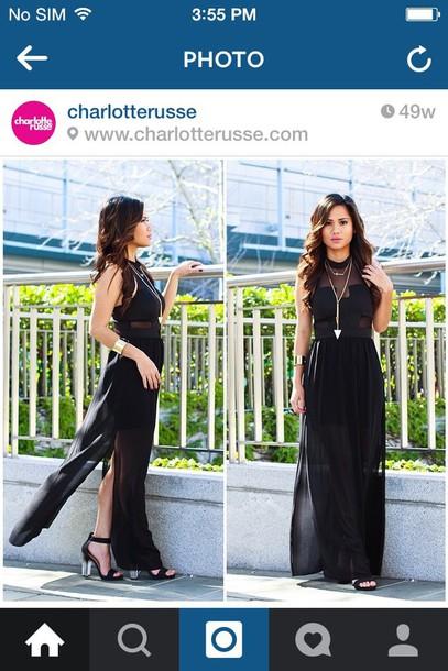 dress black shirt