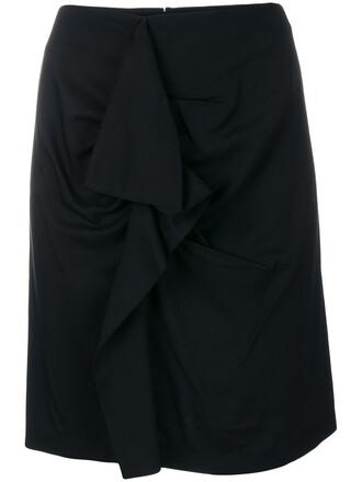 skirt pencil skirt women spandex black