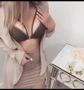 top,crochet top,green,sexy top,bra