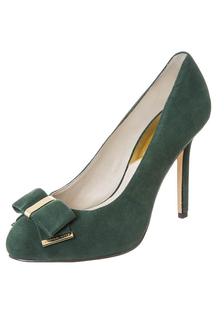 MICHAEL Michael Kors KIERA - High Heel Pumps - dark malachite - Zalando.de