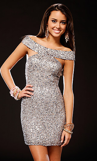 Short Sequin Formal Dress