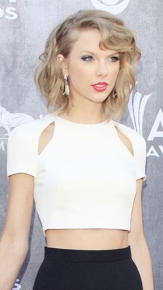 top white crop tops taylor swift style crop tops