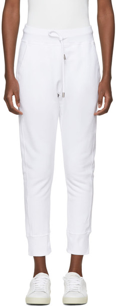 Dsquared2 pants classic white