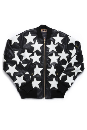 ALL STAR PATCHED JACKET / BLACK - JOYRICH Store