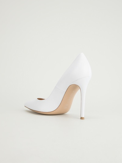Gianvito Rossi Pointed Toe Pump - Biondini Paris - Farfetch.com