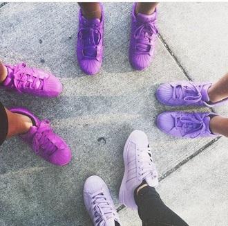 shoes adidas adidas shoes adidas originals adidas supercolor purple purple shoes