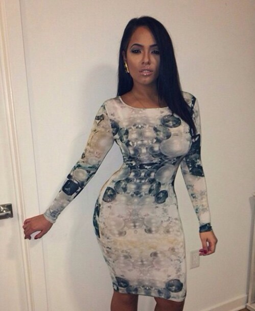 dress outfit long sleeves long sleeve dress bodycon dress cute dress