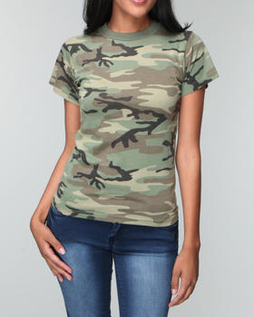 buy rothco camo tee women 39 s tops from drj army navy shop find drj. Black Bedroom Furniture Sets. Home Design Ideas