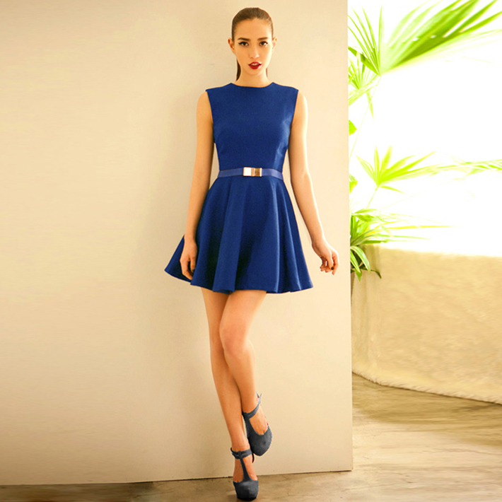 Livraison gratuite 2013 nouvelle mode de haute qualité de banlieue ol simple balançoire. 3 robe wql515