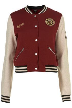 Baseball Jacket - Jackets & Coats - Clothing - Topshop USA