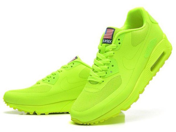 brand new 5c73b 152e4 nike air max 90 neon green