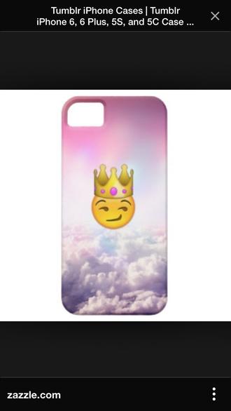 phone case swag style emoji queen