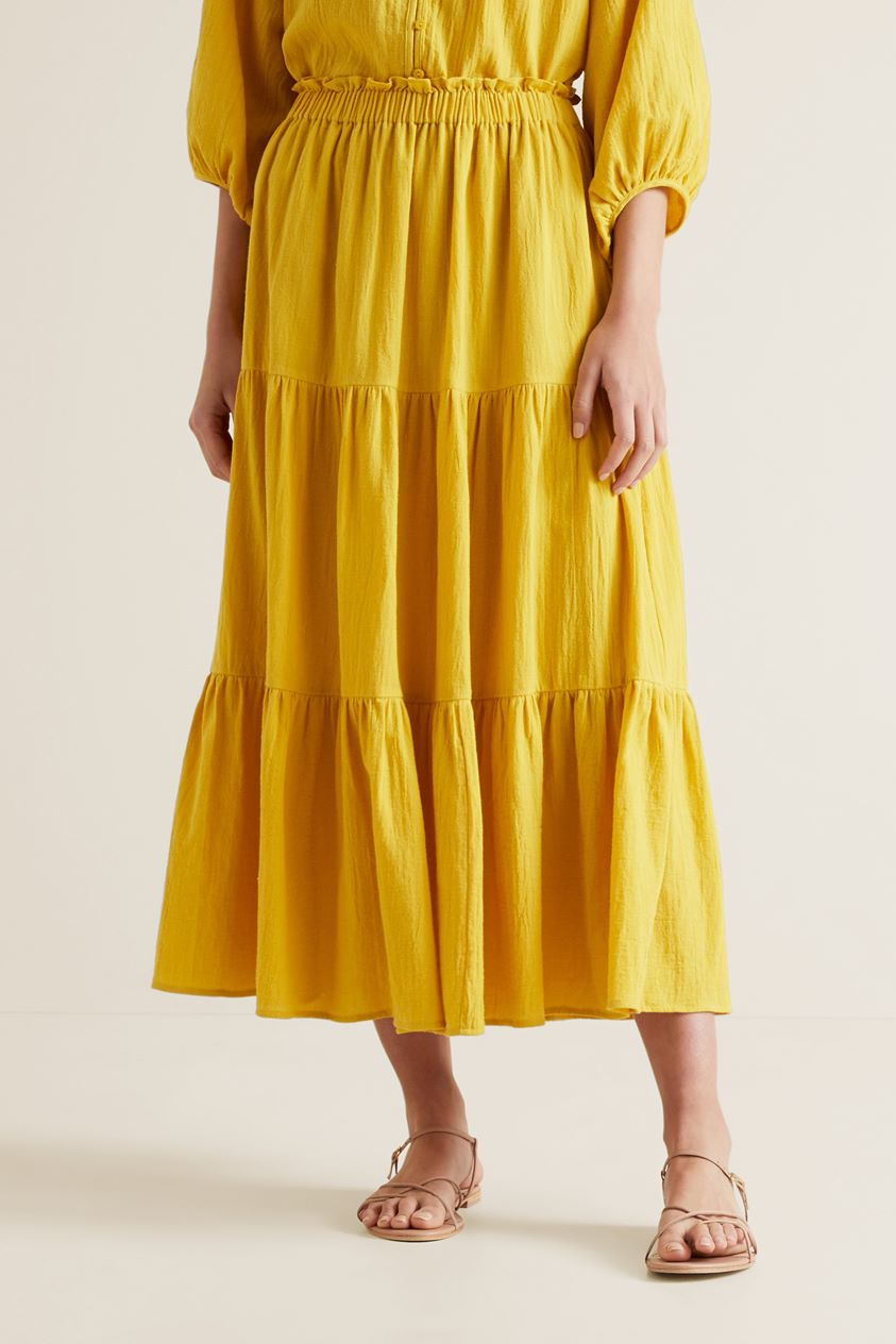 Cheesecloth Skirt