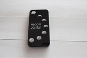 phone cover,moon,child,moonchild,moon phases,black,iphone case,black and white,phone,iphone,grunge,fashion,iphone cover