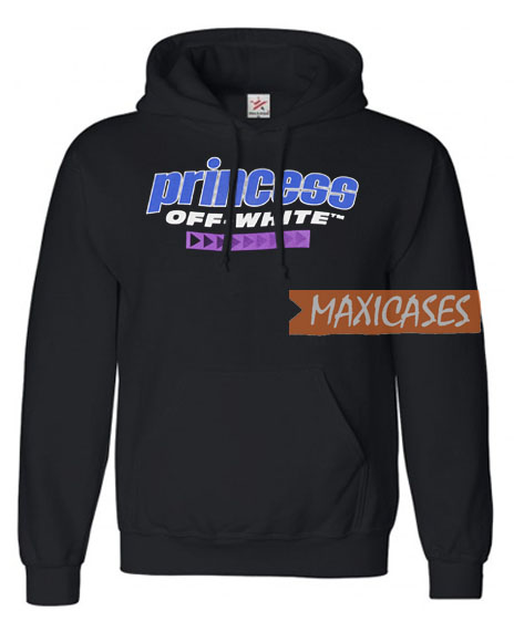 e70230a9b8e Princess Off White Hoodie Unisex Adult Size S to 3XL